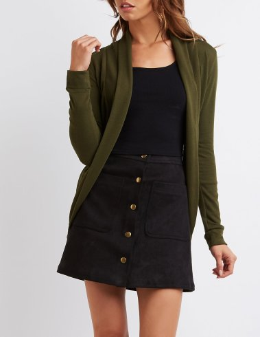 curved-hem-cardigan-in-olive