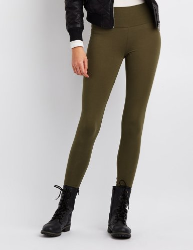 high-waisted-stretch-olive-legging