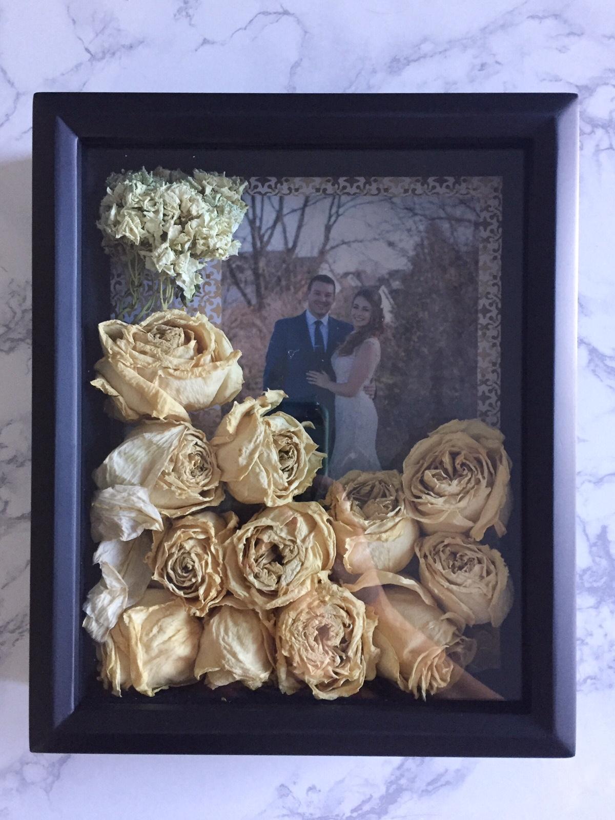Wedding Bouquet Shadowbox