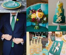 Spring Wedding Color Scheme